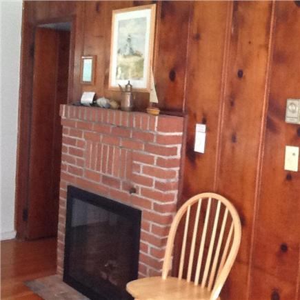 Brewster Cape Cod vacation rental - Gas Fireplace