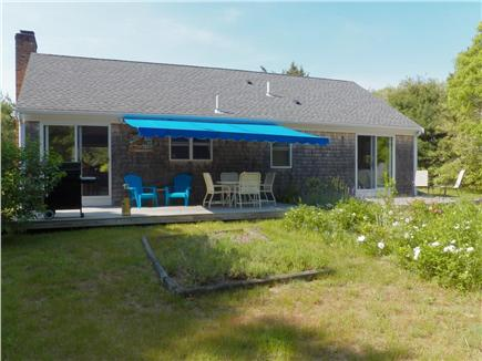 Eastham Cape Cod vacation rental - Sunny back yard