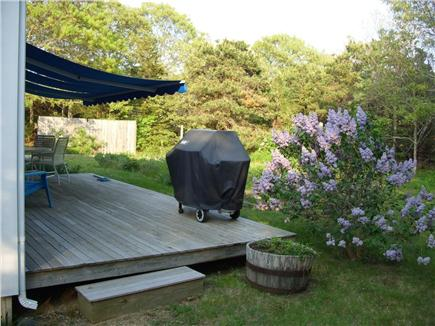 Eastham Cape Cod vacation rental - Grill