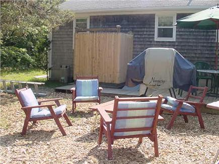 Eastham Cape Cod vacation rental - Outside sitting area