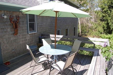 Orleans Cape Cod vacation rental - Deck with wrap around seating
