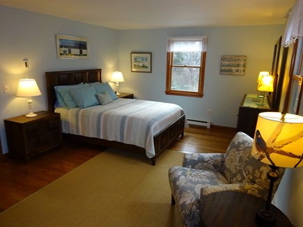 Orleans Cape Cod vacation rental - Master bedroom with attached bath on second level