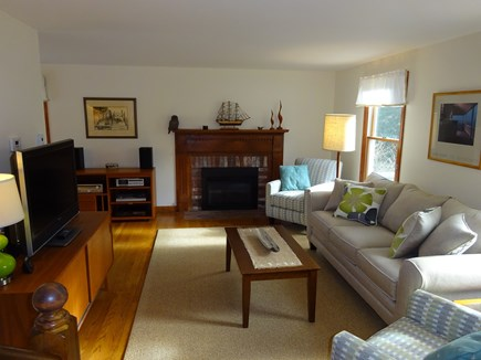 Orleans Cape Cod vacation rental - Living room with new furniture for 2017