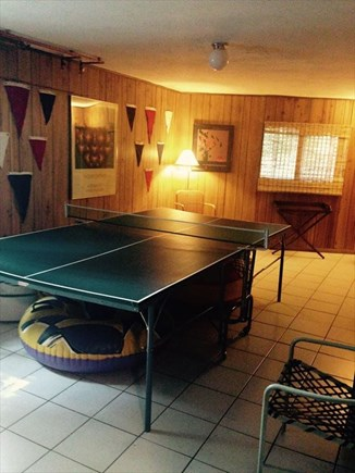 West Falmouth Cape Cod vacation rental - Pingpong