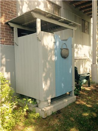 West Falmouth Cape Cod vacation rental - Outdoor shower