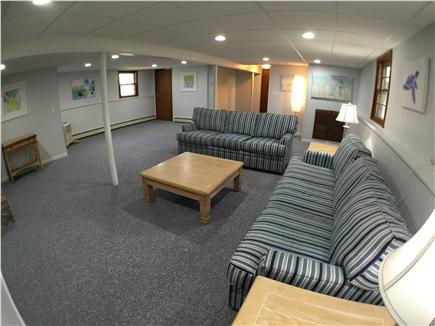 Falmouth Cape Cod vacation rental - Downstairs Family Room/Den