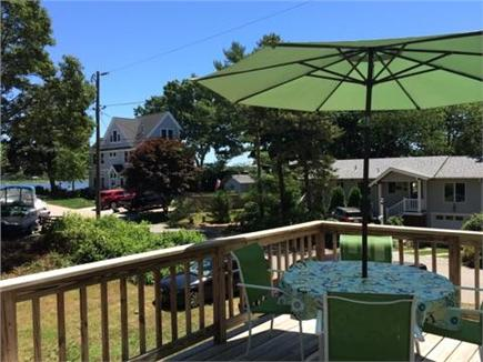 Falmouth Cape Cod vacation rental - Deck with Grill and Waterviews