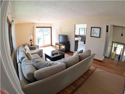 Falmouth Cape Cod vacation rental - Living Room with Slider to Deck