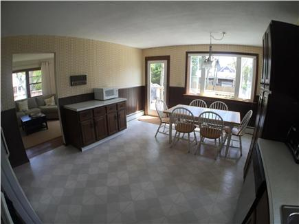Falmouth Cape Cod vacation rental - Kitchen with Door to Deck