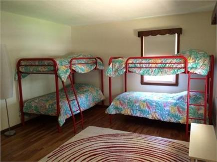 Falmouth Cape Cod vacation rental - Bedroom 3 with 2 sets of bunk beds