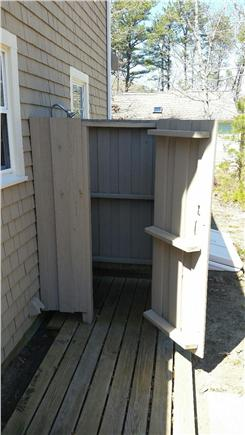 Eastham Cape Cod vacation rental - Great outdoor shower with hot & cold water
