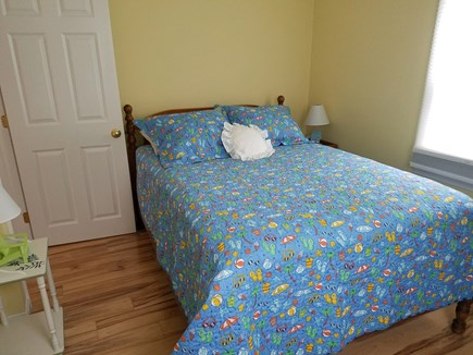 Eastham Cape Cod vacation rental - Downstairs bedroom with full size bed.