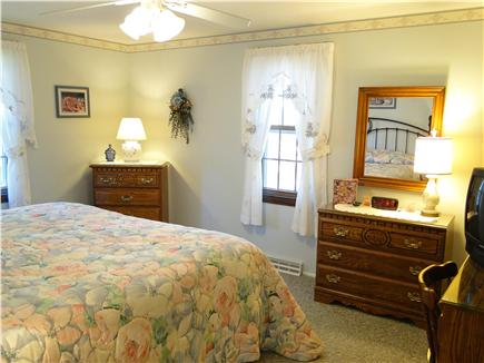 Dennisport Cape Cod vacation rental - Spacious master includes TV and desk