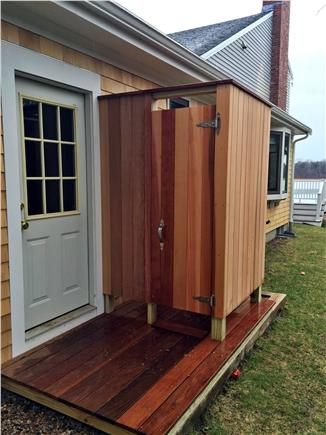 Orleans, Nauset Heights Cape Cod vacation rental - Nothing like outdoor showers and this is brand new.