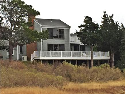 Orleans, Nauset Heights Cape Cod vacation rental - View of house from Inlet