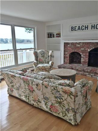 Orleans, Nauset Heights Cape Cod vacation rental - The living room is spacious with views and even a telescope