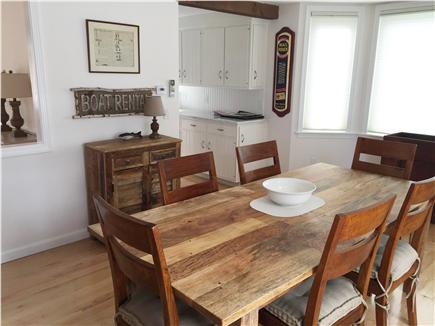 Orleans, Nauset Heights Cape Cod vacation rental - Dining is right off the kitchen with additional chairs for more.