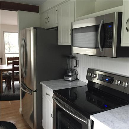 Orleans, Nauset Heights Cape Cod vacation rental - The kitchen is efficient and fully equipped.