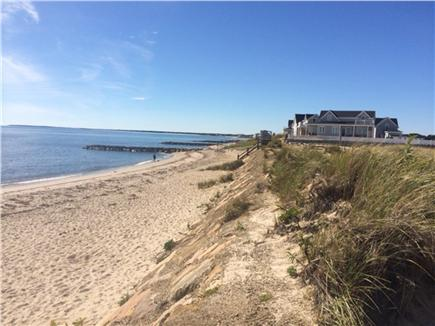 Dennis Port Cape Cod vacation rental - One of the beach views at the end of our street