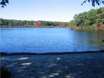 Brewster Cape Cod vacation rental - Blueberry Pond is just around the corner, with a small beach area