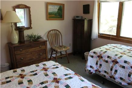 Brewster Cape Cod vacation rental - Upstairs bedroom with 2 twin beds