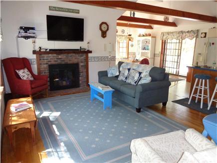 Wellfleet Cape Cod vacation rental - Living area