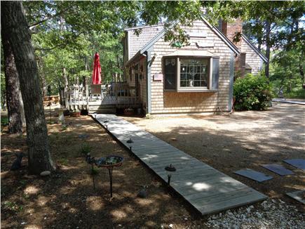 Wellfleet Cape Cod vacation rental - Back yard with Boardwalk
