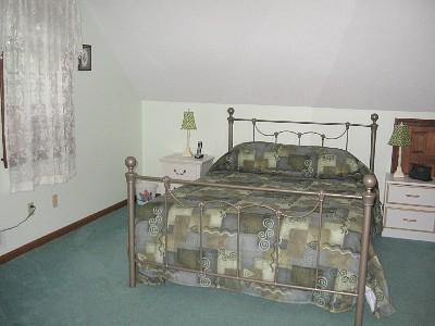 Wellfleet Cape Cod vacation rental - Upstairs master bedroom with queen bed