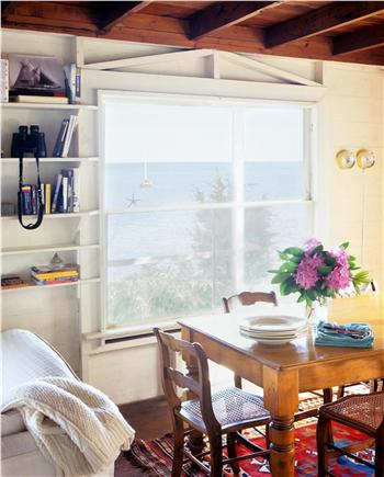 North Chatham Cape Cod vacation rental - Dining Table's view of the water