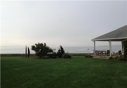 North Chatham Cape Cod vacation rental - Lawn and House overlooking Pleasant Bay and the Atlantic