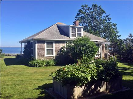 North Chatham Cape Cod vacation rental - Garden side of house overlooking Pleasant Bay and the Atlantic