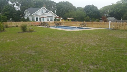 Harwichport Cape Cod vacation rental - Brand new saltwater pools steps from the house