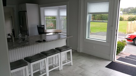 Harwichport Cape Cod vacation rental - Spacious eat-in kitchen area (and dining room attached)