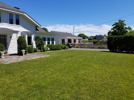 Harwichport Cape Cod vacation rental - 6-bedroom main house with pool and 3 bedroom poolhouse beyond
