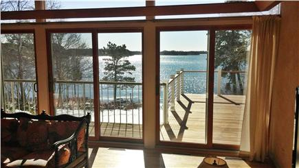 Centerville Centerville vacation rental - Sliders to deck overlooking lake