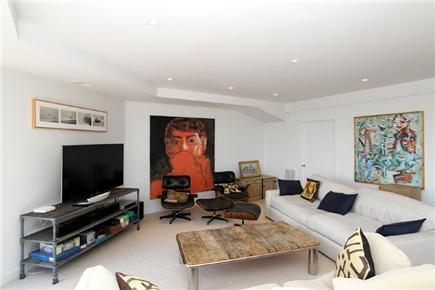 East Orleans Cape Cod vacation rental - Lower Level- Living Area