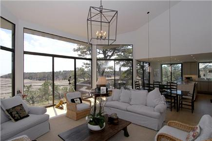 East Orleans Cape Cod vacation rental - Spacious Living Area open to dining and kitchen