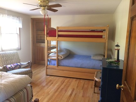 Brewster Cape Cod vacation rental - Bedroom with bunk beds and twin