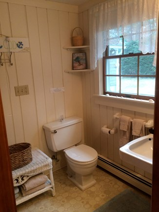 Brewster Cape Cod vacation rental - Bathroom with tub and shower