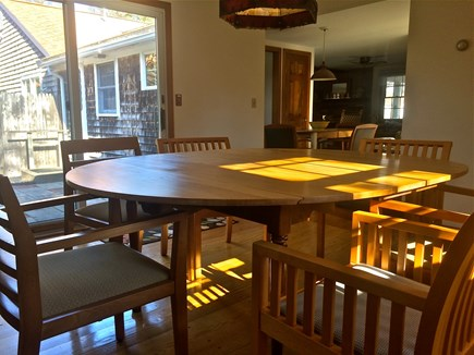 Brewster Cape Cod vacation rental - Dining room