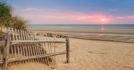 Brewster Cape Cod vacation rental - Beautiful sunset at Crosby Landing.