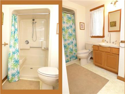 Brewster Cape Cod vacation rental - Master bathroom, accessible shower