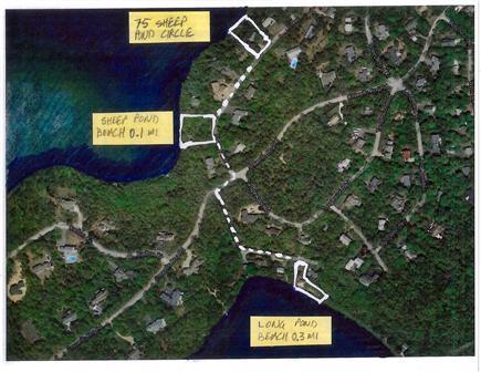 Brewster--Sheep Pond Cape Cod vacation rental - Community beaches: 0.1 mi to Sheep Pond, 0.3 mi. to Long Pond.