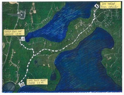 Brewster--Sheep Pond Cape Cod vacation rental - Boat lunch ramps: 1.2 mi to Sheep Pond, 1.3 mi to Long Pond.