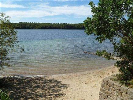Brewster--Sheep Pond Cape Cod vacation rental - One of two neighborhood beaches just a short walk from the house.