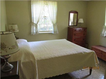 Brewster--Sheep Pond Cape Cod vacation rental - Bed room #1 has a double bed and air conditioning.