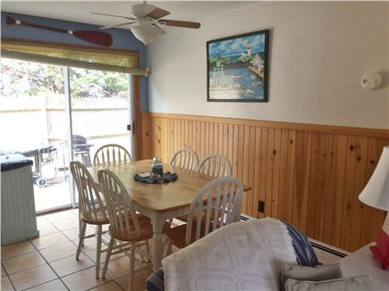 Dennis Port Cape Cod vacation rental - Dining Room with sliders to the patio