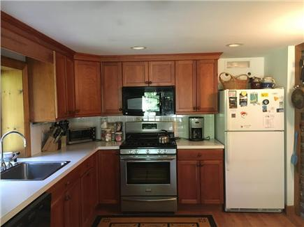 Brewster Cape Cod vacation rental - Well-stocked kitchen with new stove