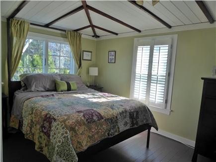 Sagamore Beach Sagamore Beach vacation rental - Second queen bedroom overlooking back yard and gardens
