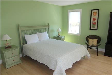 Truro Cape Cod vacation rental - Bedroom 2  - Two Queen Beds (First Floor)